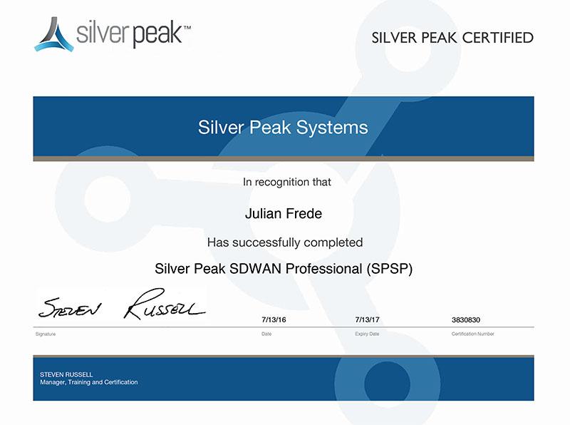CCS ist erster voll zertifizierter Silver Peak SD-WAN Partner in ...